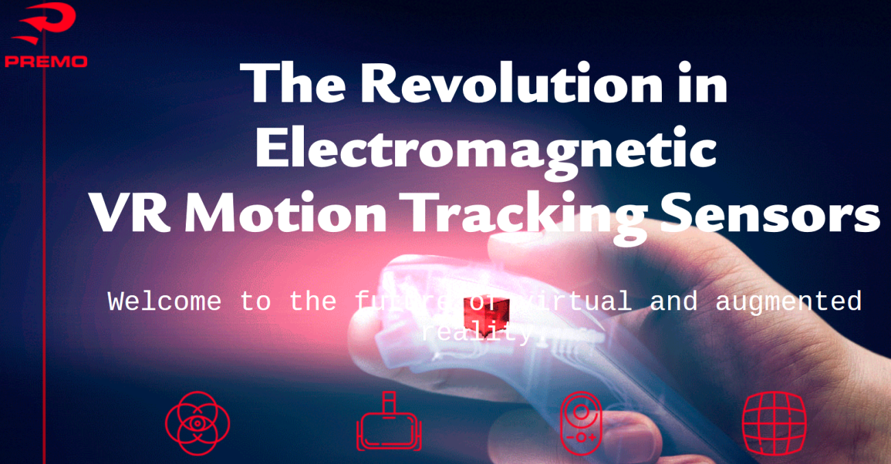 electromagnetic vr motion tracking sensors