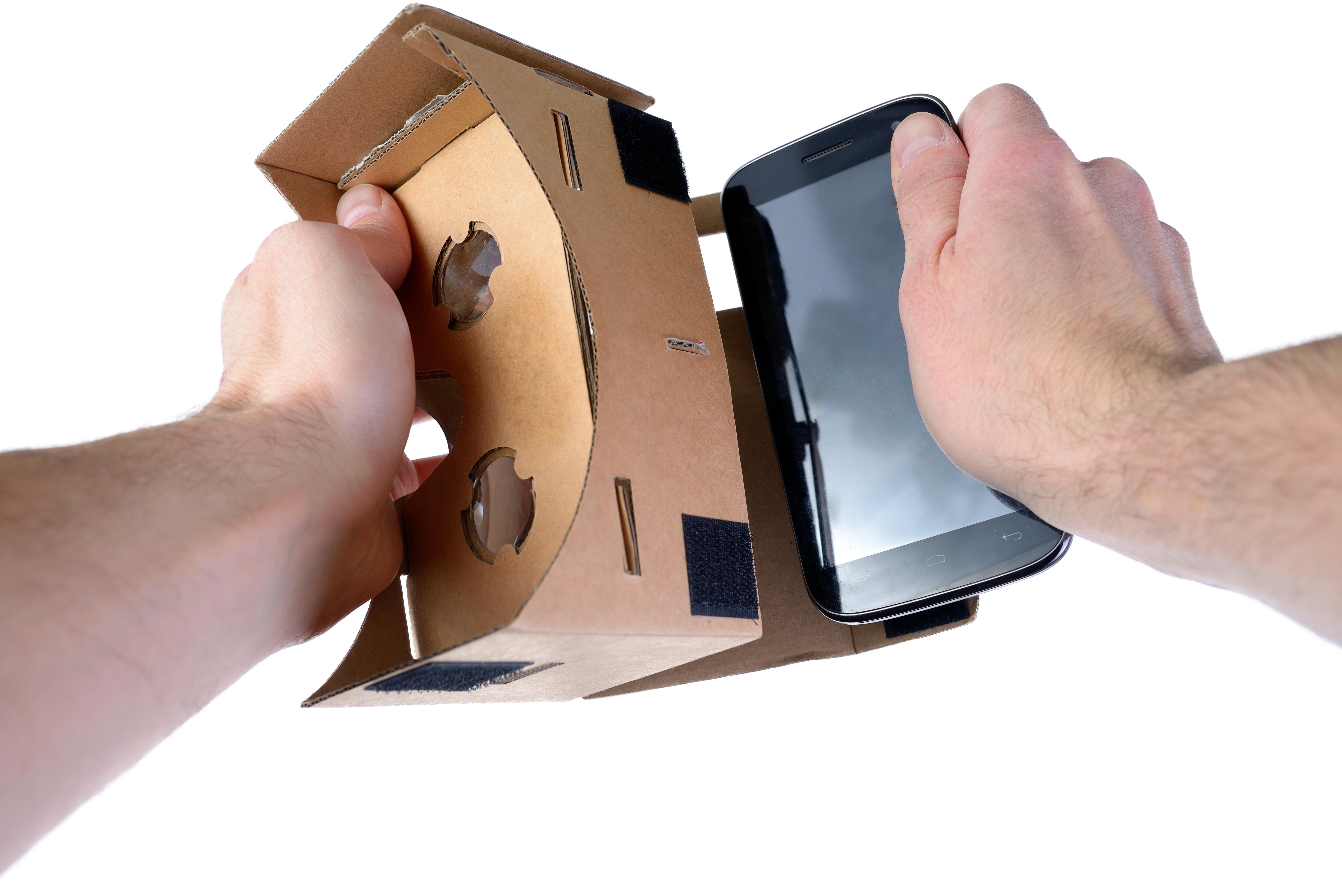 VR glasses cardboard