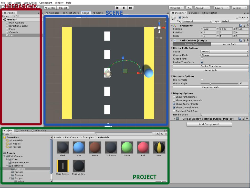 Unity program interface
