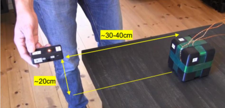Motion tracking calibration
